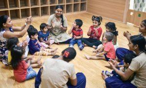 An induction programme for children underway - Candor TechSpace