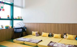 The sleeping area for children - Candor TechSpace