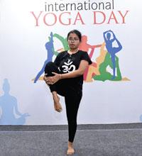 International Yoga Day - Candor Kolkata Campus