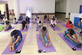 International Yoga Day Candor Campus Sector 135 Noida