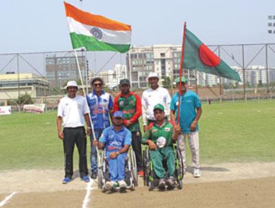 Team Bangladesh vs. Team India