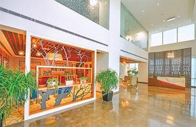 Candor TechSpace Sector 62 Noida Tower 6 lobby