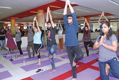 Candor Campus International Yoga Day