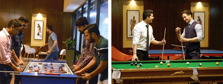 Foosball and Snooker - Candor TechSpace