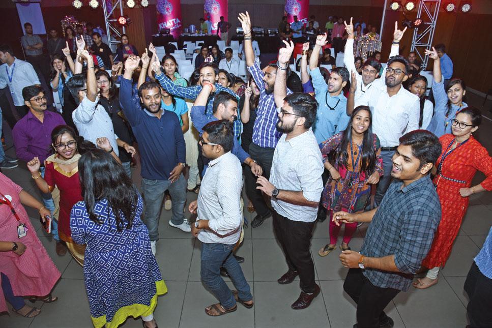 On the dance floor - Candor TechSpace