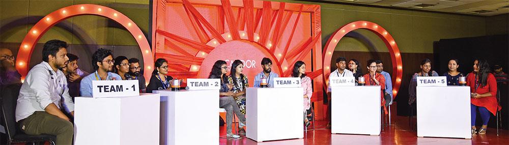 Maha antakshari competition - Candor TechSpace