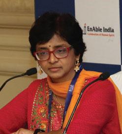 Ms Shanti Raghavan, Founder, EnAble India