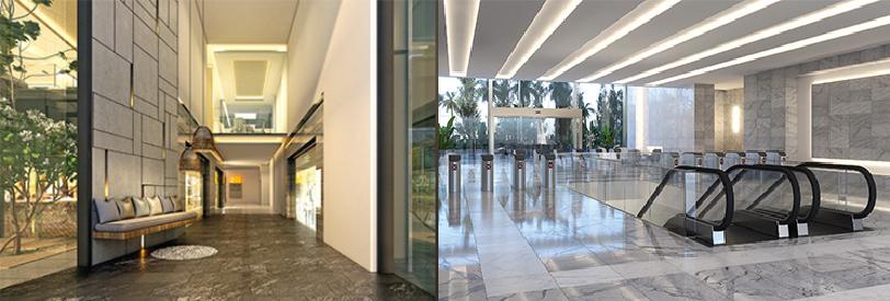 Atrium view - Candor TechSpace