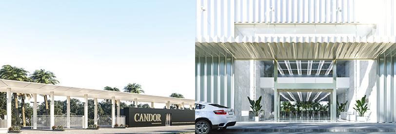 Campus main entrance - Candor TechSpace
