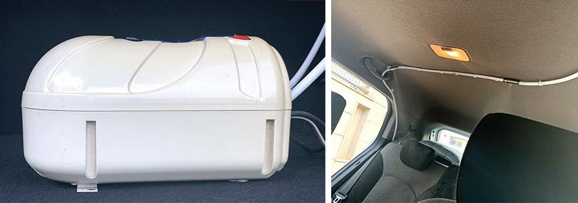 Automatic Vehicle Sanitising Apparatus