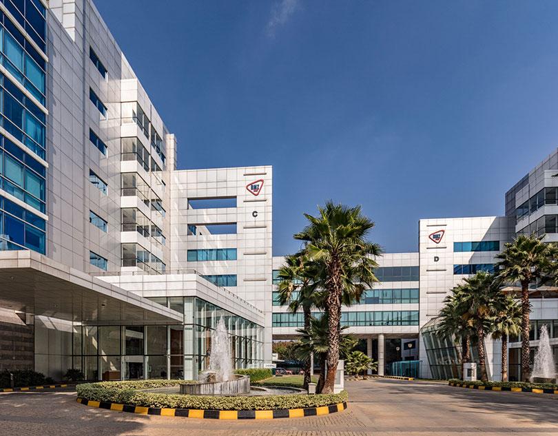 Centennial, a 4-building 0.5 million sf complex in Bengaluru