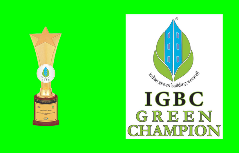 Receiving Recognition from the Indian Green Building Council